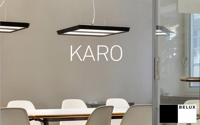 Belux Bürohängelampe Kronleuchter und Hängelampen Innenbeleuchtung  |