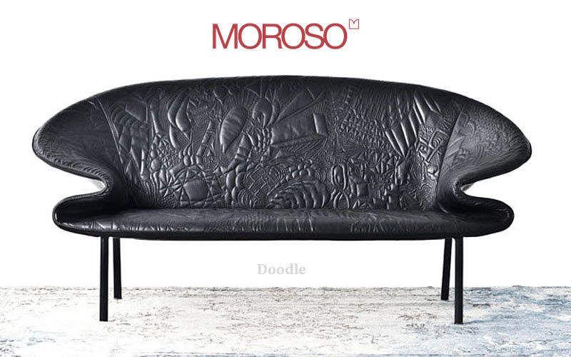Moroso Sofa 2-Sitzer Sofas Sitze & Sofas   