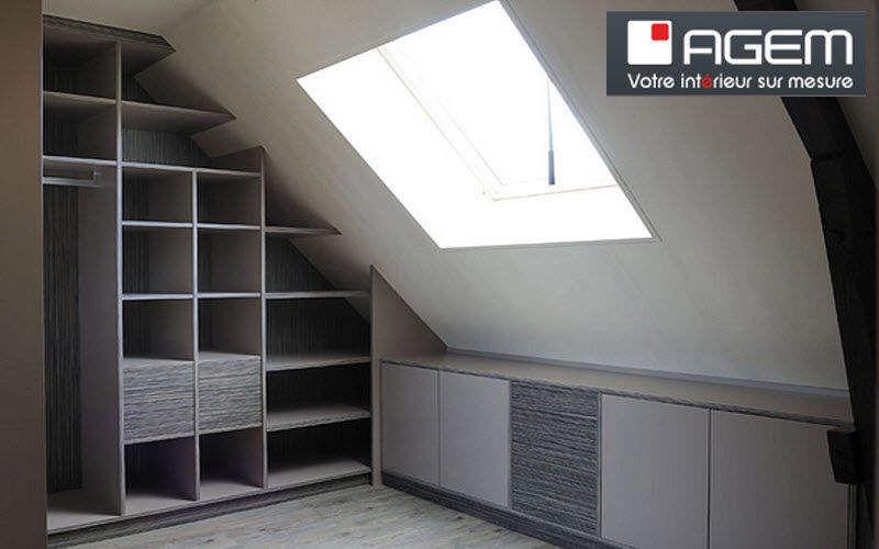 Agem Einbauschrank für Dachschrägen Schränke Garderobe  |