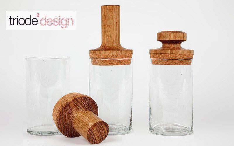 TRIODE Glas Aufbewahrung (Dosen-Töpfe-Gläser) Küchenaccessoires  |