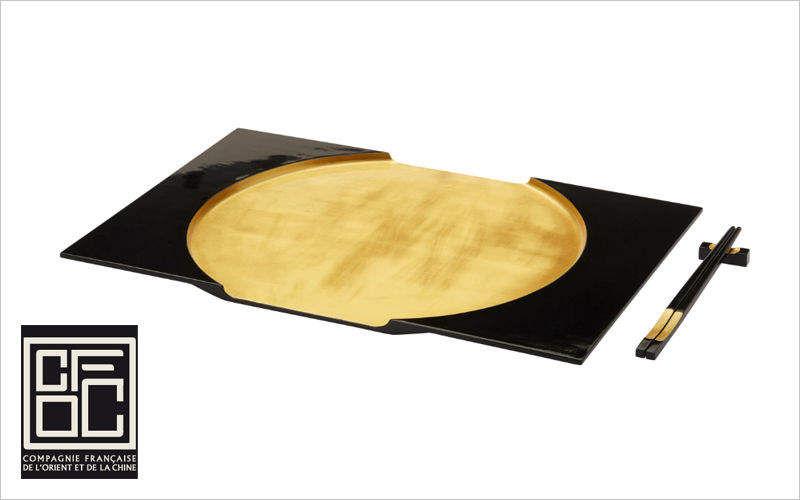 Compagnie Francaise de l'Orient et de la Chine Tablett Platte Küchenaccessoires  |