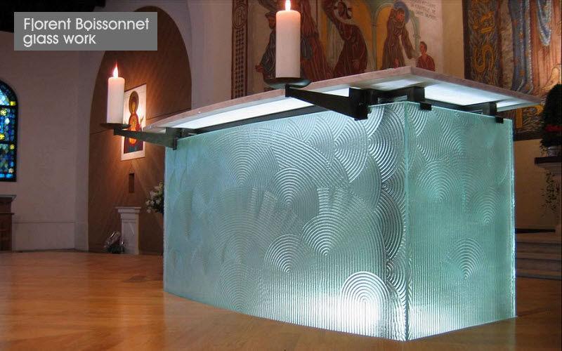 Florent Boissonnet-Glasswork Buntglasfenster Glasmalereien Verzierung  |