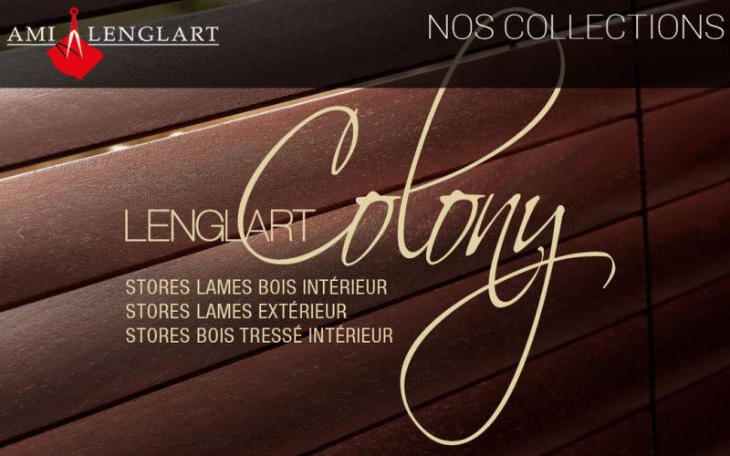 AMI A LENGLART Jalousien Stores Stoffe & Vorhänge  |