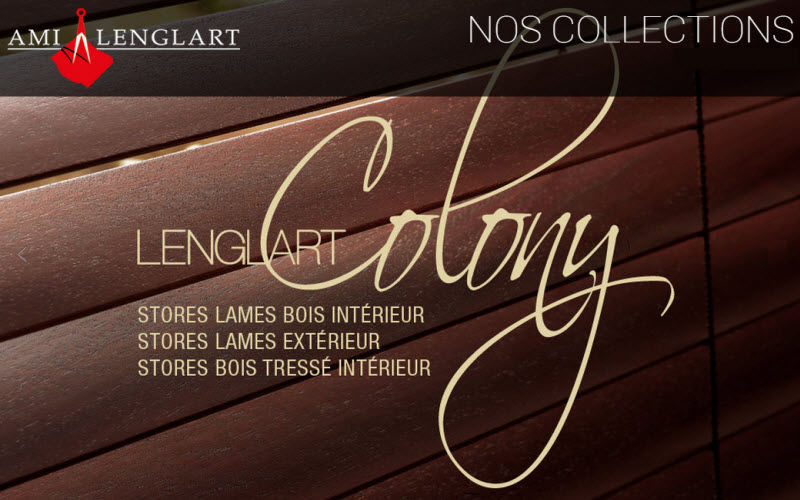 Ami Lenglart Jalousien Stores Stoffe & Vorhänge  |