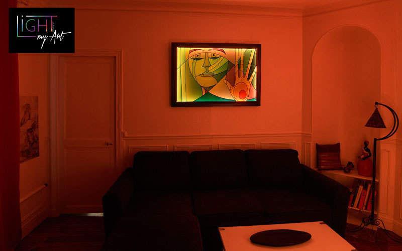 LIGHT MY ART Leuchtende Gemälde Verschiedene Ziergegenstände Dekorative Gegenstände  |