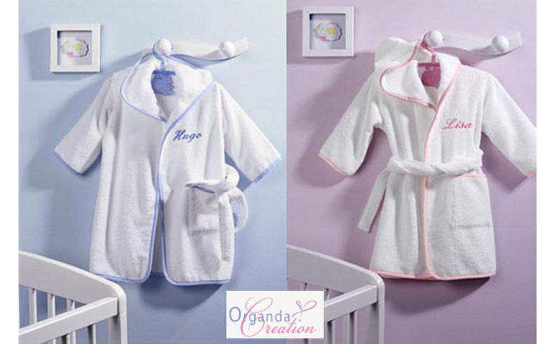 Organda Creation Kinderbademantel Bad- und Toilettenartikel für Kinder Kinderecke   