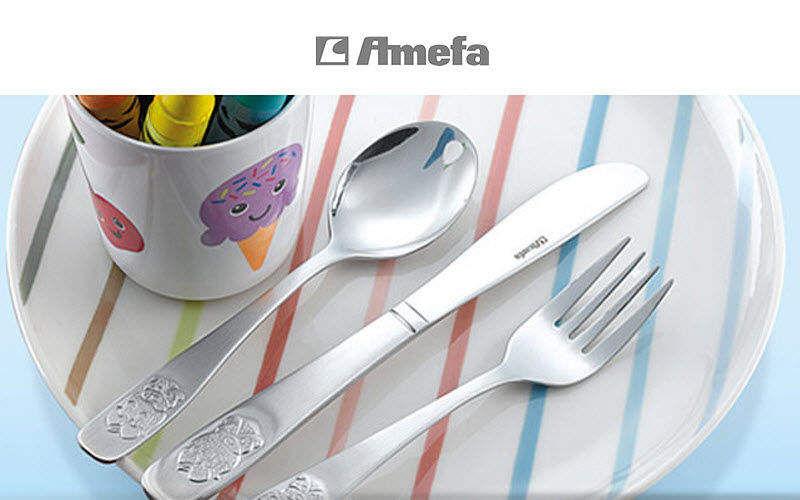 Amefa Kinderbesteck Tischzubehör für Kinder Kinderecke  |