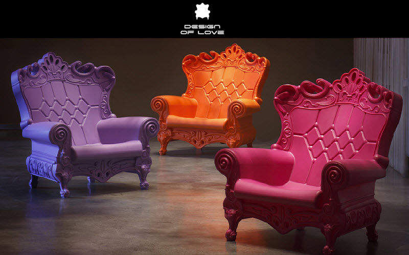 Slide Thron Sessel Sitze & Sofas   