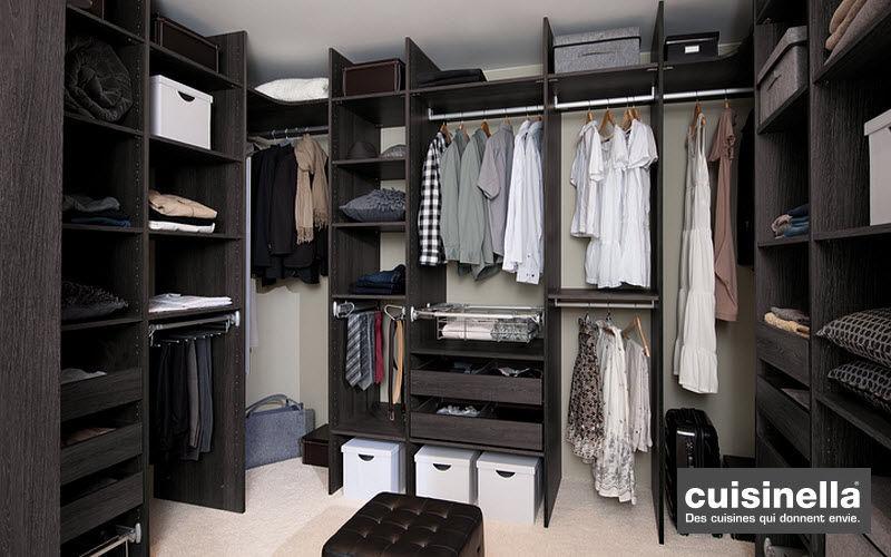 CUISINELLA Dressing in U Ankleidezimmer Garderobe  |