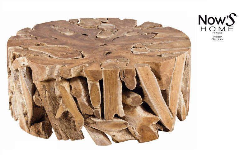 Now's Home Runder Couchtisch Couchtische Tisch  | Exotisch