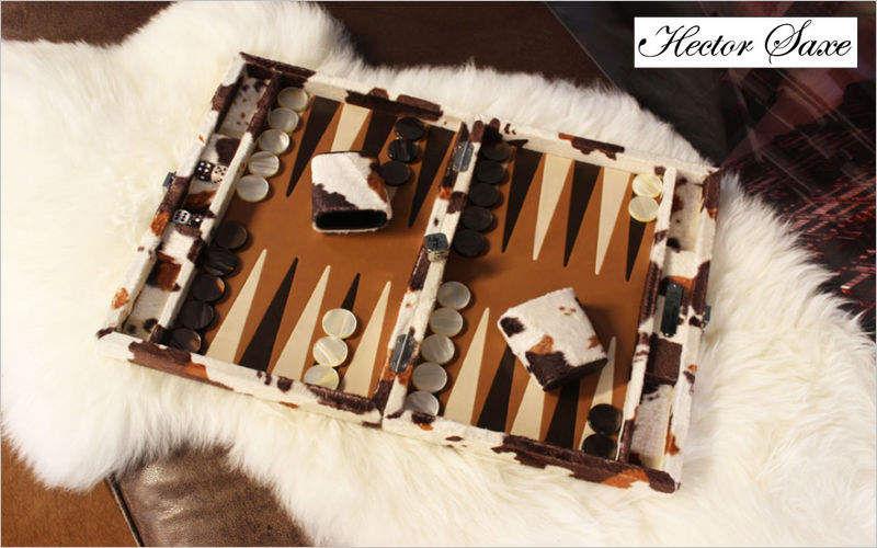 HECTOR SAXE Backgammon Gesellschaftsspiele Spiele & Spielzeuge  |