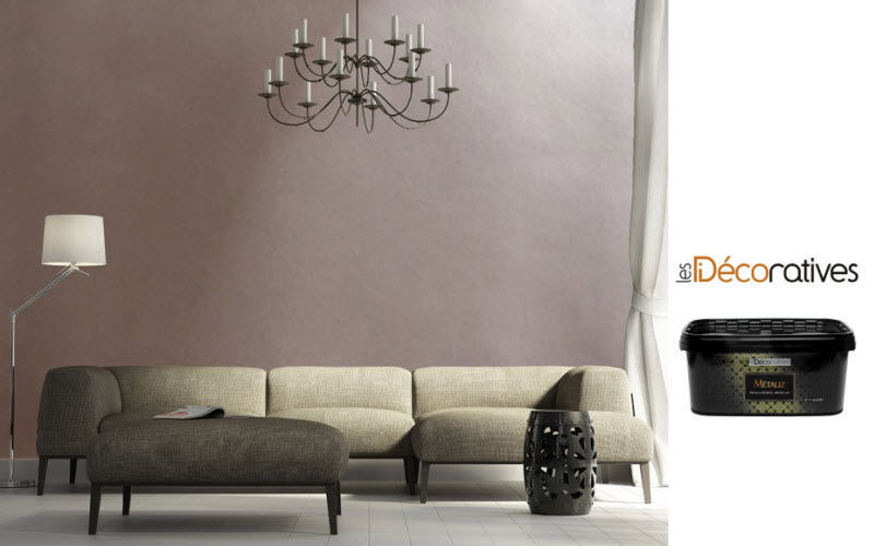 LES DECORATIVES Wandfarbe Anstriche Metallwaren  |