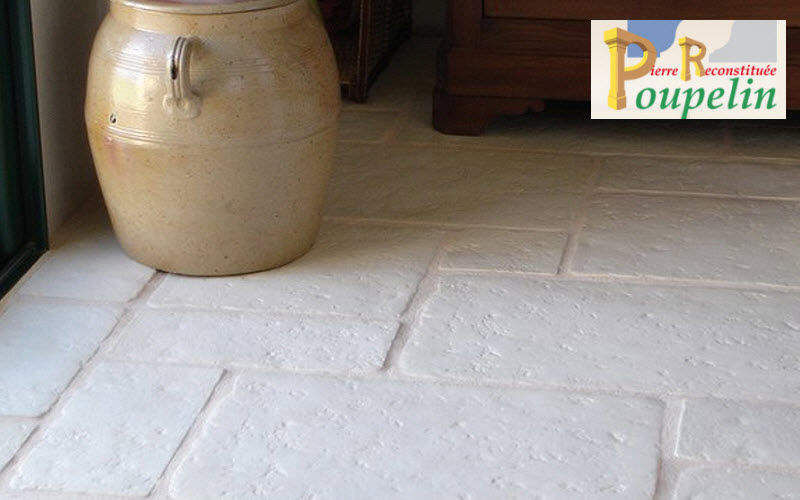 POUPELIN PIERRE RECONSTITUEE Innenplatten Bodenplatten Böden  |