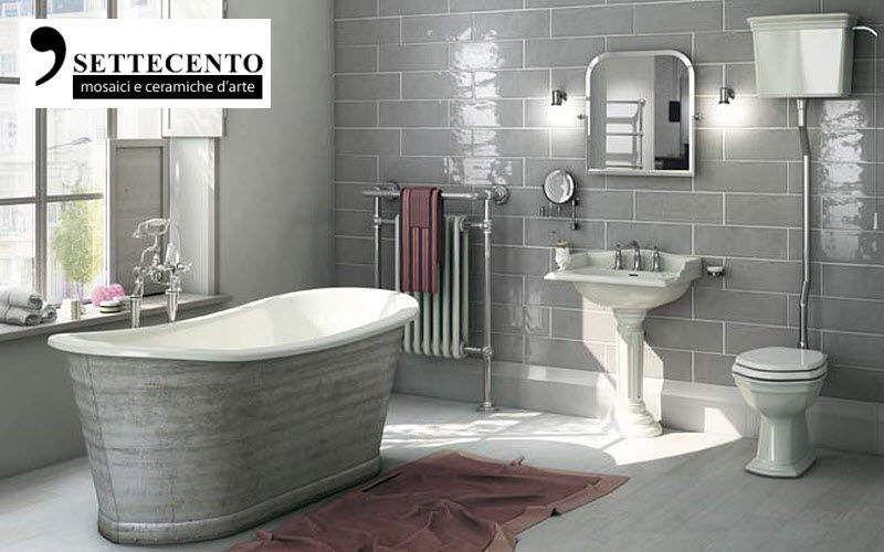 SETTECENTO Badezimmer Fliesen Wandfliesen Wände & Decken Badezimmer | Land