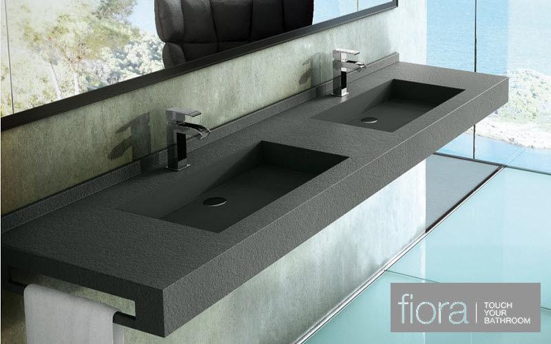 FIORA Doppelwaschtisch Möbel Badezimmermöbel Bad Sanitär   