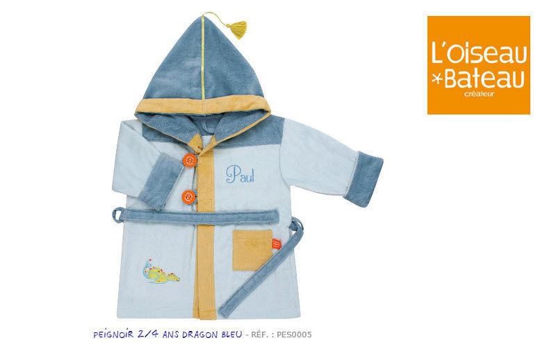 L'Oiseau Bateau Kinderbademantel Bad- und Toilettenartikel für Kinder Kinderecke  |