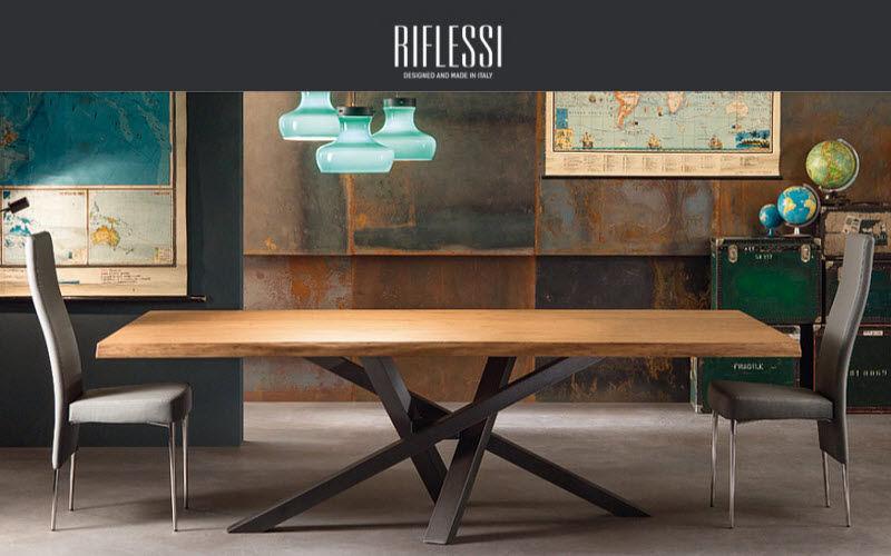 RIFLESSI Rechteckiger Esstisch Esstische Tisch Esszimmer | Design Modern