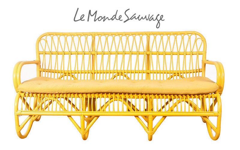Le Monde Sauvage Gepolsterte Bank Sitzbänke Sitze & Sofas  | Land