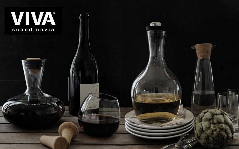VIVA SCANDINAVIA Weinkaraffe Flaschen und Karaffen Glaswaren  |