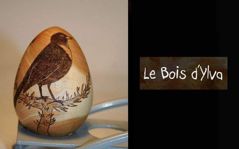 LE BOIS D'YLVA TOURNAGE / BOIS Deko-Ei Dekorobst Dekorative Gegenstände  |