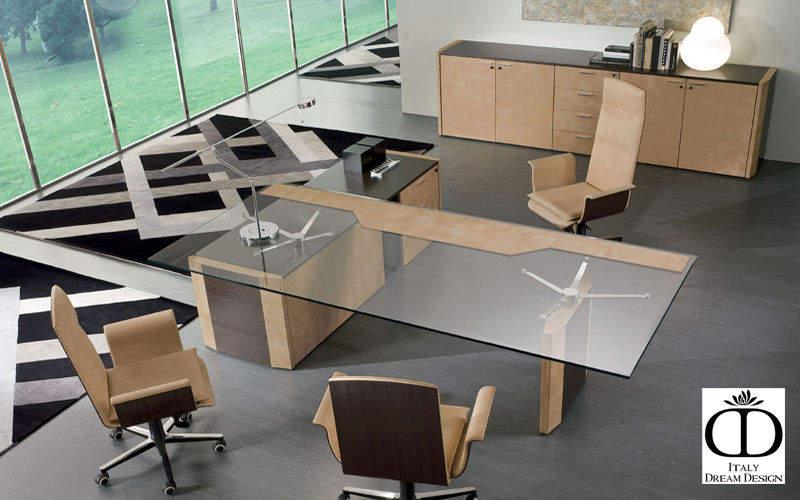 ITALY DREAM DESIGN Direktionsschreibtisch Schreibtische & Tische Büro   