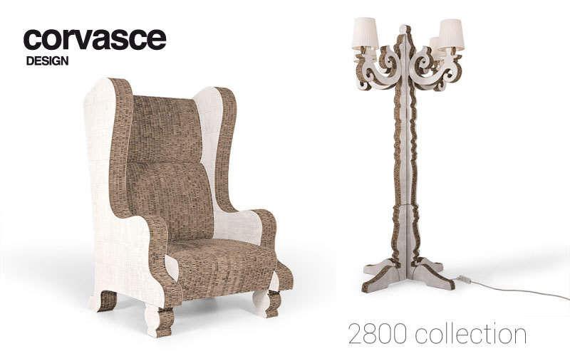 Corvasce Design Stehlampe Stehlampe Innenbeleuchtung  |