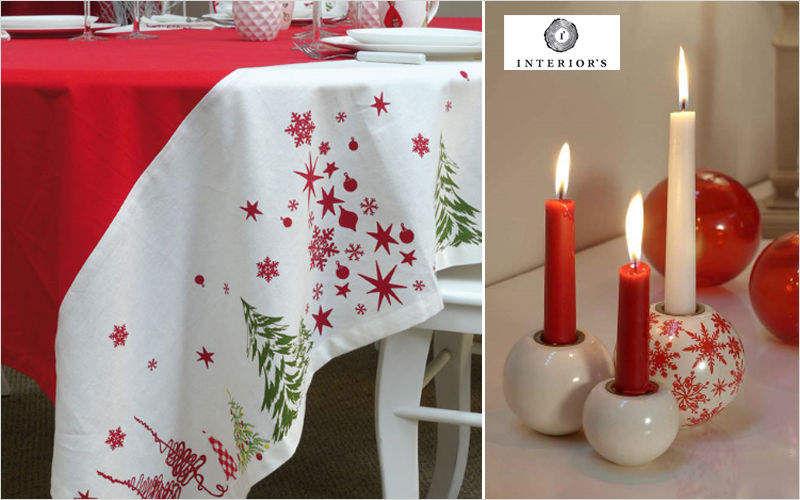 INTERIOR'S Weihnachtstischdecke Weihnachtsdekoration Weihnachten & Feste  |