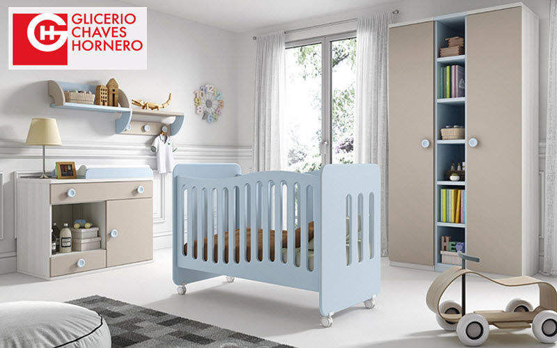 GLICERIO CHAVES Babybett Kinderzimmer Kinderecke  |