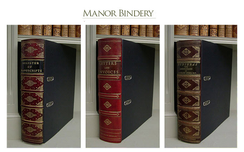 The Manor Bindery Ordner mit Hebel Boxen und Aktenordner Büro  |