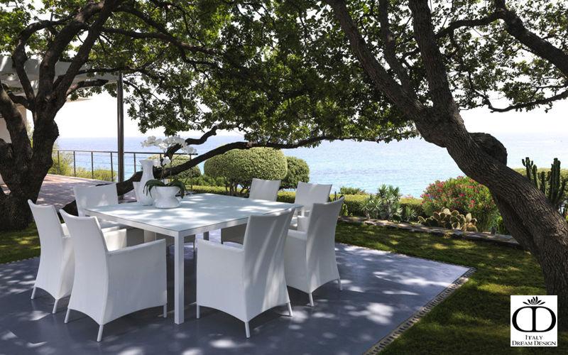 ITALY DREAM DESIGN Gartentisch Gartentische Gartenmöbel   