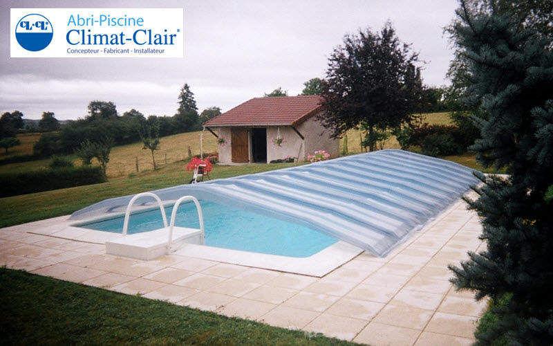 CLIMAT CLAIR Abnehmbarer Swimmingpoolschutz Schwimmbadschutz Schwimmbad & Spa  |