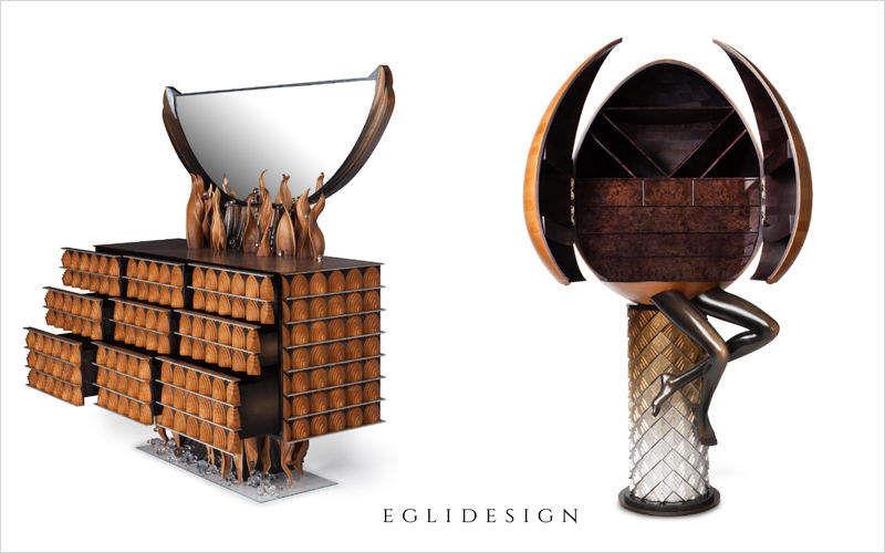 EGLIDESIGN Kommode Schubladenmöbel und Kommoden Regale & Schränke Schlafzimmer | Unkonventionell