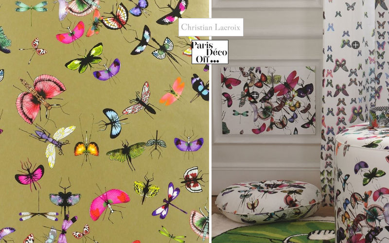CHRISTIAN LACROIX FOR DESIGNERS GUILD Tapete Tapeten Wände & Decken  |