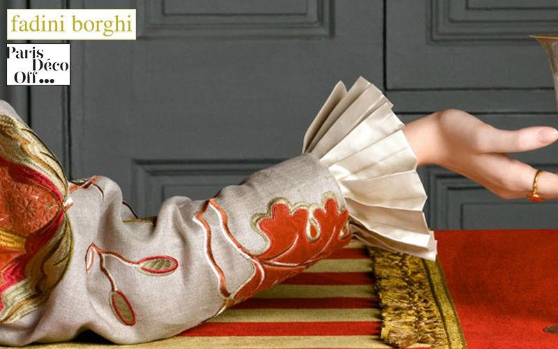 Fadini Borghi Stickerei Möbelstoffe Stoffe & Vorhänge   