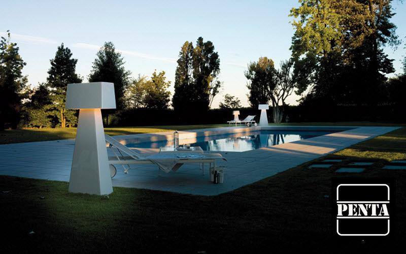 PENTA Gartenstehlampe Straßenlaternen Außenleuchten Garten-Pool  