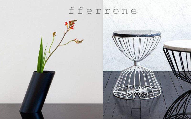 FFERRONE DESIGN Hocker Schemel und Beinauflage Sitze & Sofas   