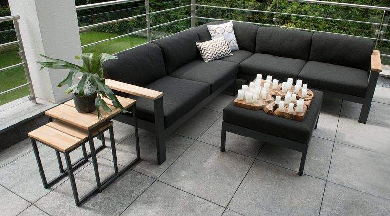 4 SEASONS OUTDOOR Gartensofa Gartenmöbelgarnituren Gartenmöbel  |