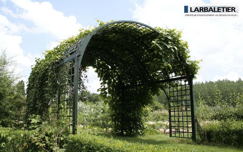 Larbaletier Pflanzenbogen Scherenzaun und Spalieren Gartenhäuser, Gartentore...  |
