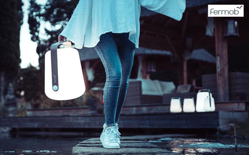 Fermob LED Gartenleuchte Bodenbeleuchtungen Außenleuchten  |