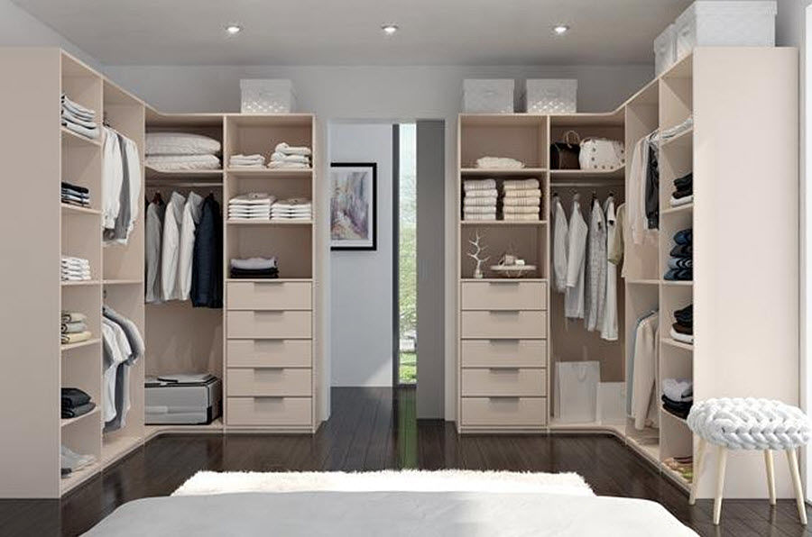 Coulidoor Dressing in U Ankleidezimmer Garderobe  |