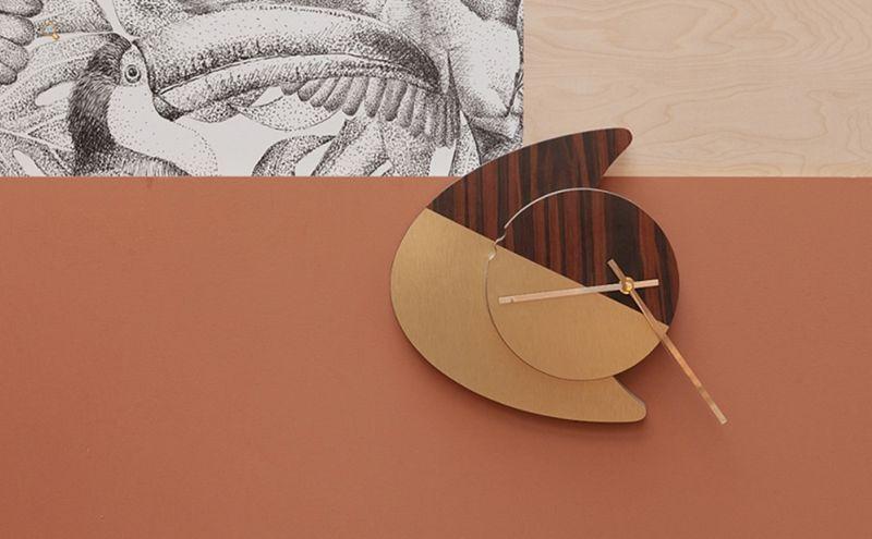 BLOMKÅL Wanduhr Uhren Pendeluhren Wecker Dekorative Gegenstände  |