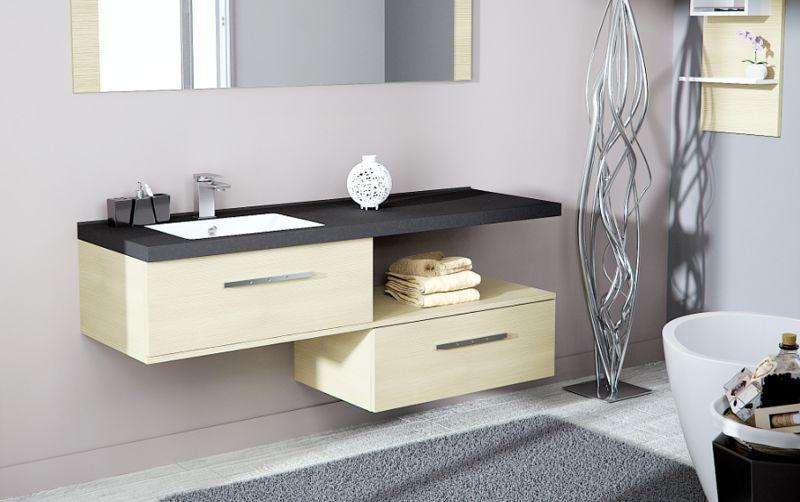 CHENE VERT Badezimmermöbel Badezimmermöbel Bad Sanitär  |