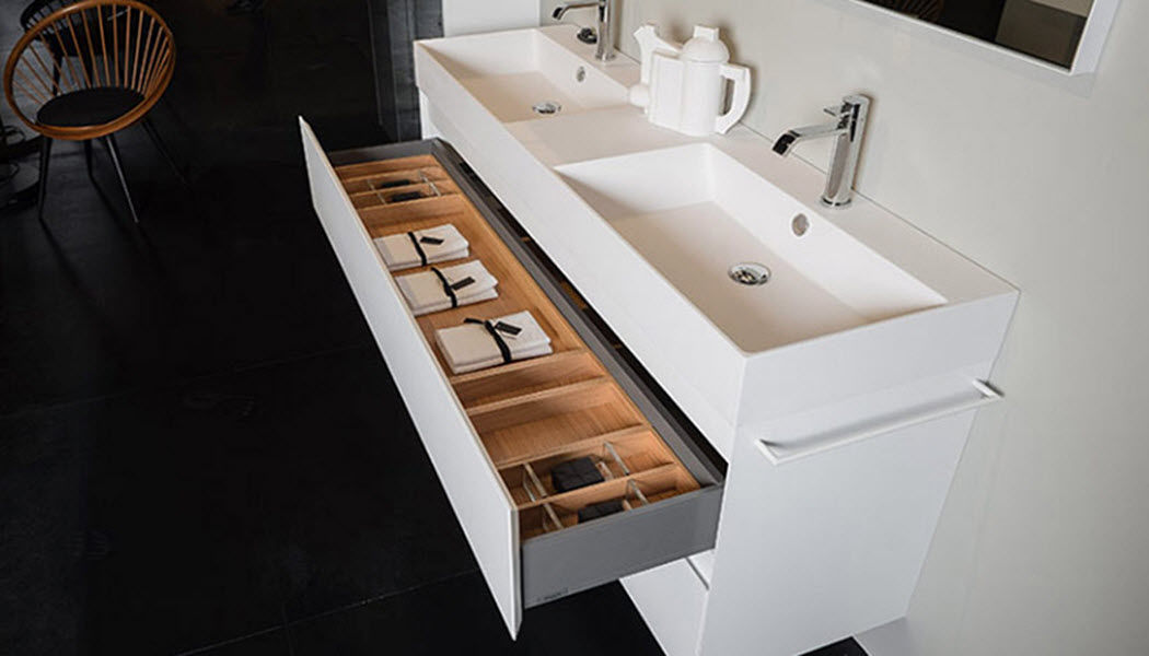 SIGN Doppelwaschtisch Möbel Badezimmermöbel Bad Sanitär  |