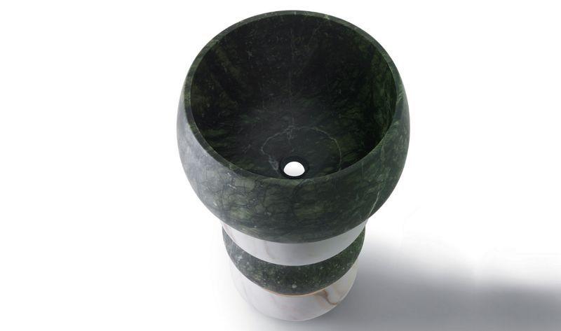 Kreoo Fuß- oder Säulenwaschbecken Waschbecken Bad Sanitär Badezimmer | Design Modern