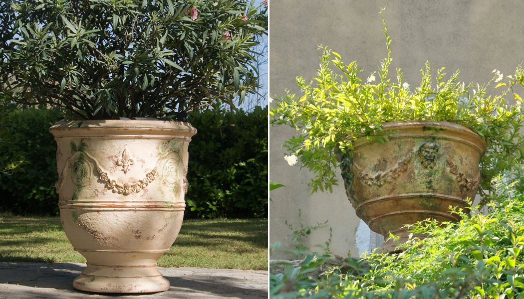 Le Chêne Vert Anduze-Vase Blumentöpfe  Blumenkasten & Töpfe Garten-Pool | Klassisch