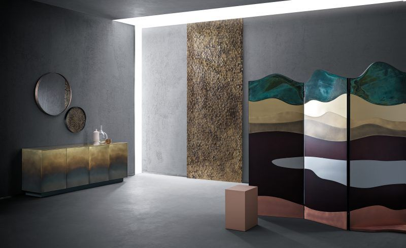 De Castelli Paravent Sichtschutzwand Tisch   