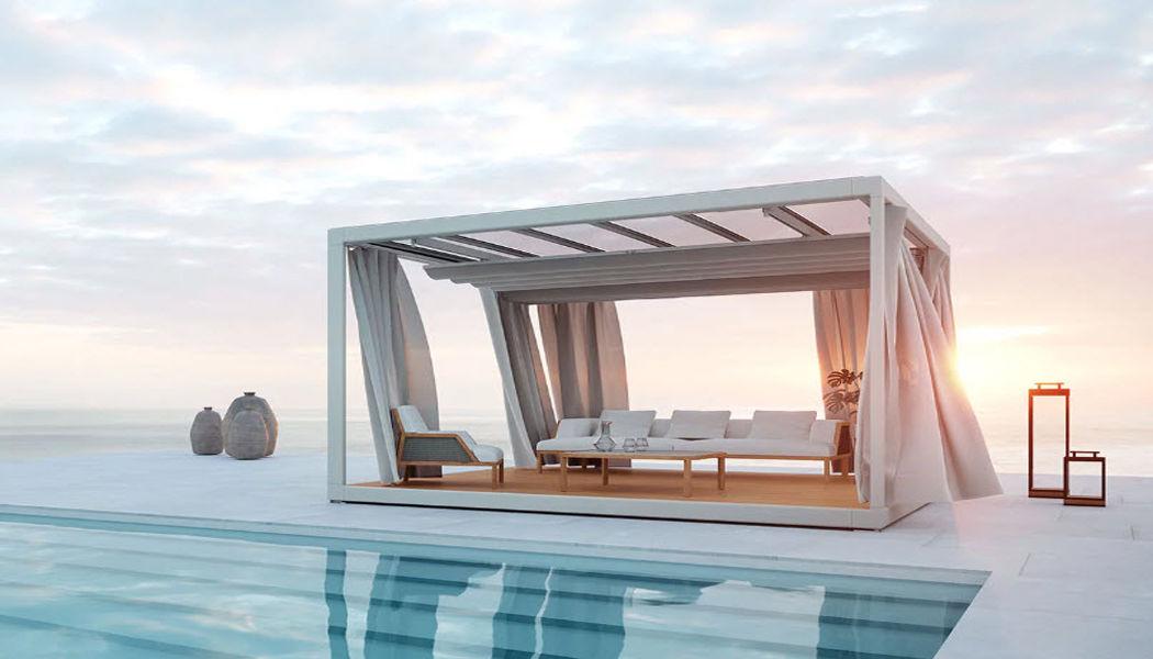 ETHIMO Sommerpavillon Hütten, Almhütten Gartenhäuser, Gartentore... Garten-Pool | Design Modern