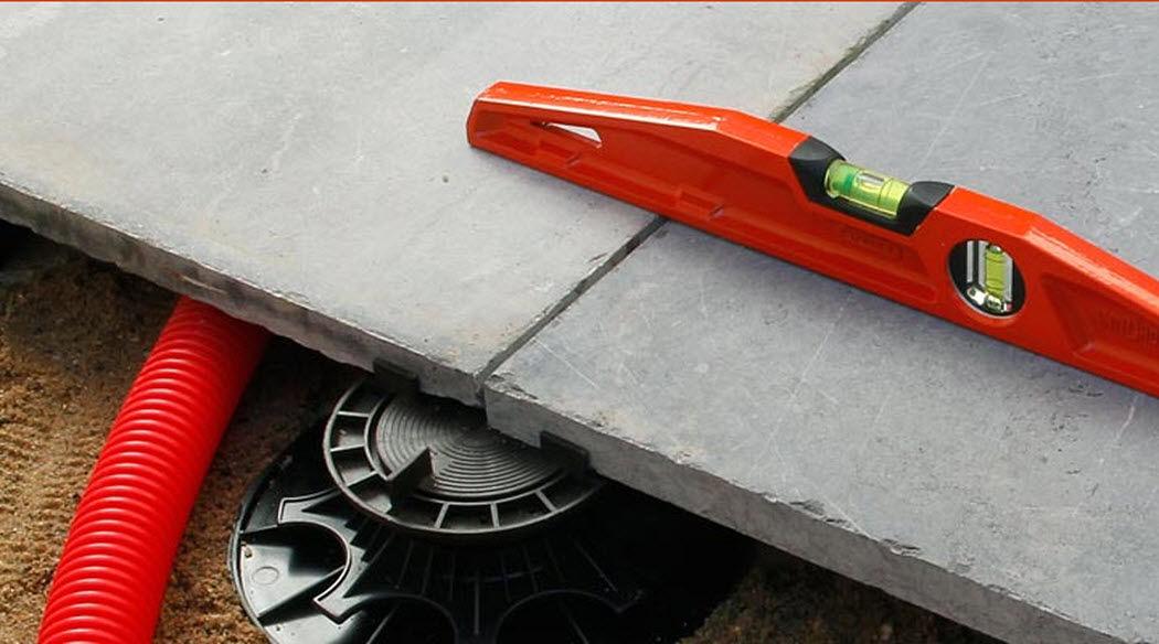 NIVO Verbindung für Bodenplatten Verschiedene Bodenbeläge Böden  |