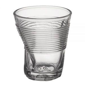 La Chaise Longue - verre froissé transparent - Glas