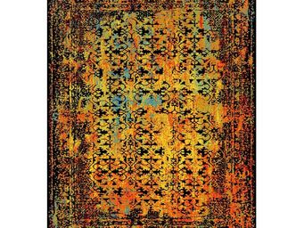 WHITE LABEL - tapis polychrome 240 x 170 cm - greco - l 240 x l - Moderner Teppich